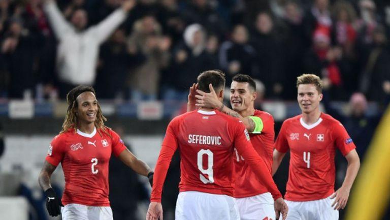Белгия се провали срещу Швейцария в изумителен сблъсък (видео)