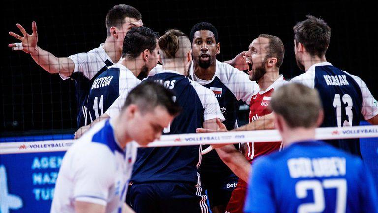 Лига на нациите (мъже): Русия - Полша 1:3