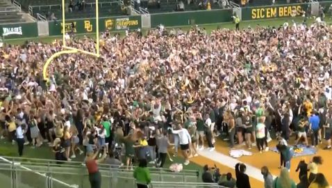Хиляди фенове отпразнуваха титлата на Бейлор в Колежанската лига