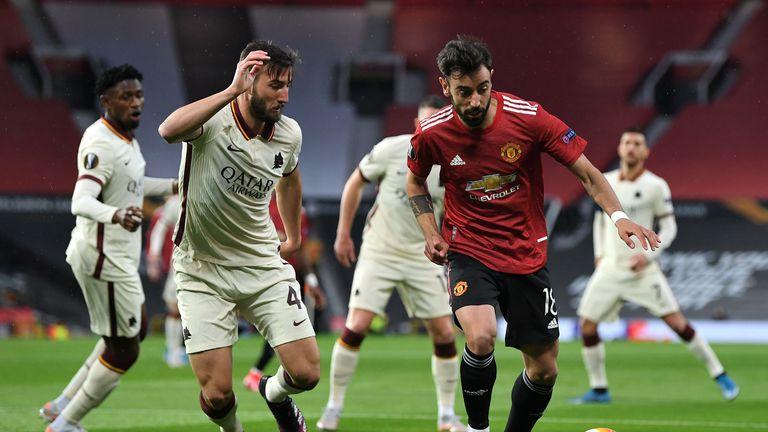 Манчестър Юнайтед ще довършва започнатото срещу Рома