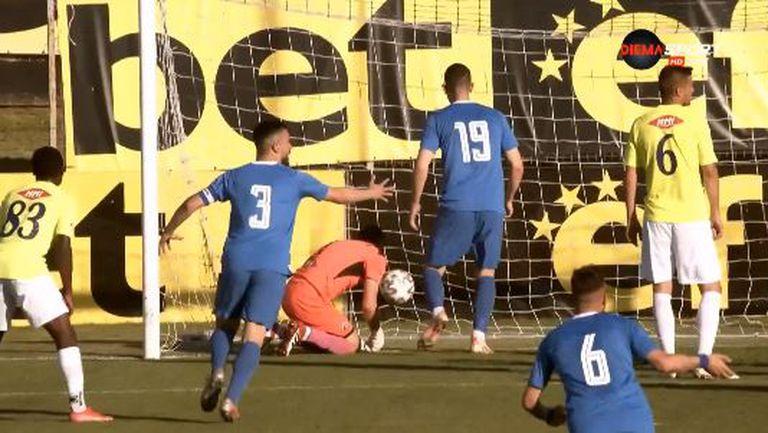 Монтана поведе на Етър след гол на Росен Кръстев