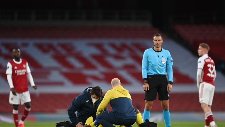 Арсенал - Виляреал 0:0