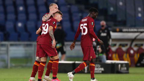Рома спаси честта си, но финалист е Манчестър Юнайтед (видео + галерия)