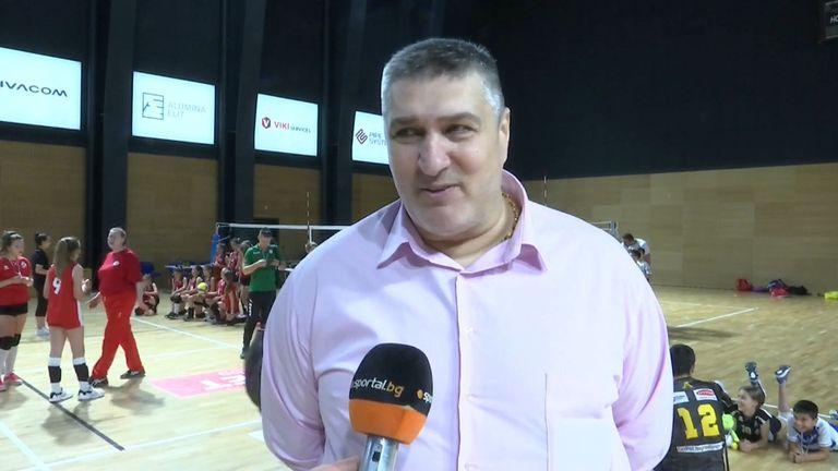 Любо Ганев: Това е годината на женския волейбол в България