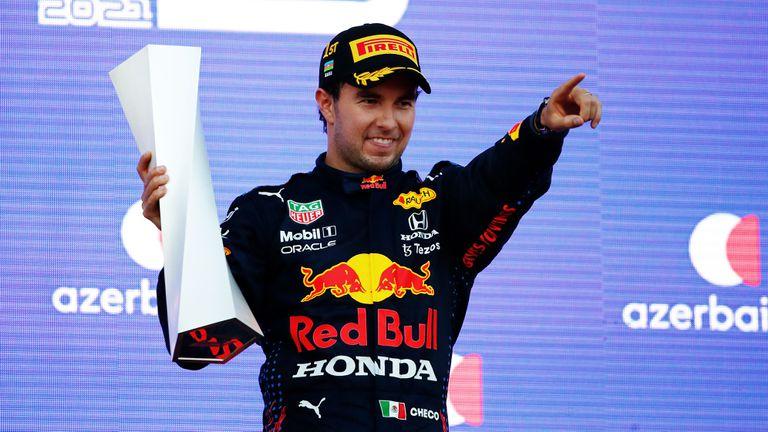 Перес е бил много близо до отпадане малко преди финала на лудата Гран При на Азербайджан