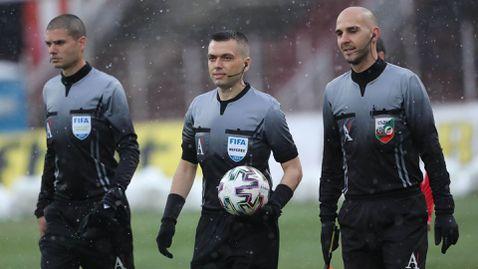 Волен Чинков ще ръководи финала за Купата на България