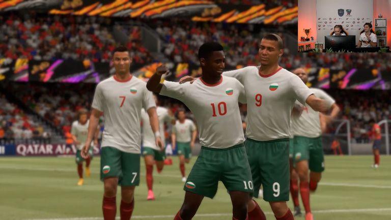 FIFAe Nations Series  контролa: България - Чехия 2:1