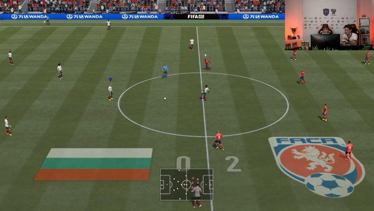 FIFAe Nations Series  контролa: България - Чехия 1:2