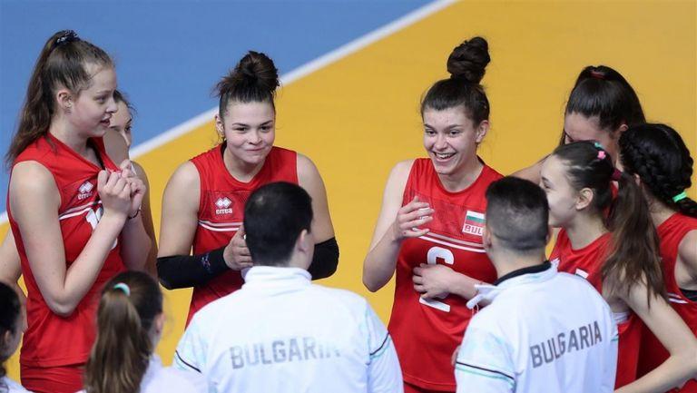 Съставът на България за европейската квалификация за девойки U16 в София