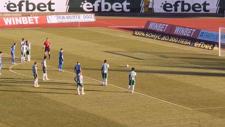 Дузпа и втори гол на Тонислав Йорданов за Арда срещу Берое