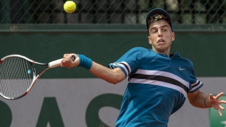 """Андреев отпадна в 3 кръг на """"Ролан Гарос"""""""