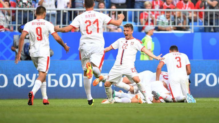 Радост за Сърбия! Мондиалът започна отлично за съседите - победа над Коста Рика (видео+снимки)