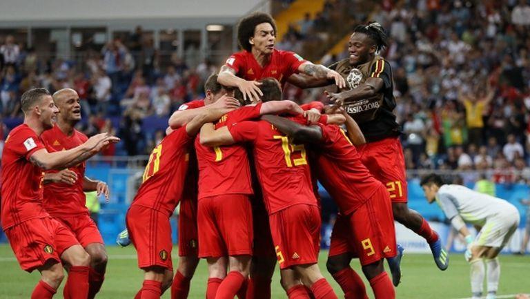Белгия възкръсна за изключителен обрат в последната секунда и стигна до мечтания 1/4-финал срещу Бразилия (видео)