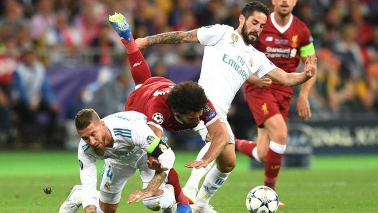 Клоп нападна Рамос за контузията на Салах от финала на ШЛ
