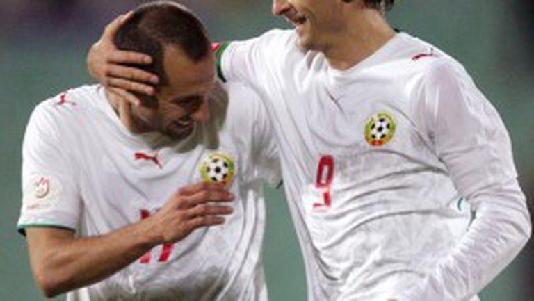Мачовете с Ейре и Кипър доказаха - България НЕ може без Бербатов и Мартин