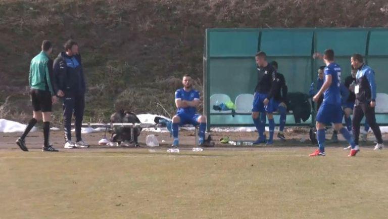Евгени Гроздин порази вратата на Гранит за 2:0 в полза на Кюстендил
