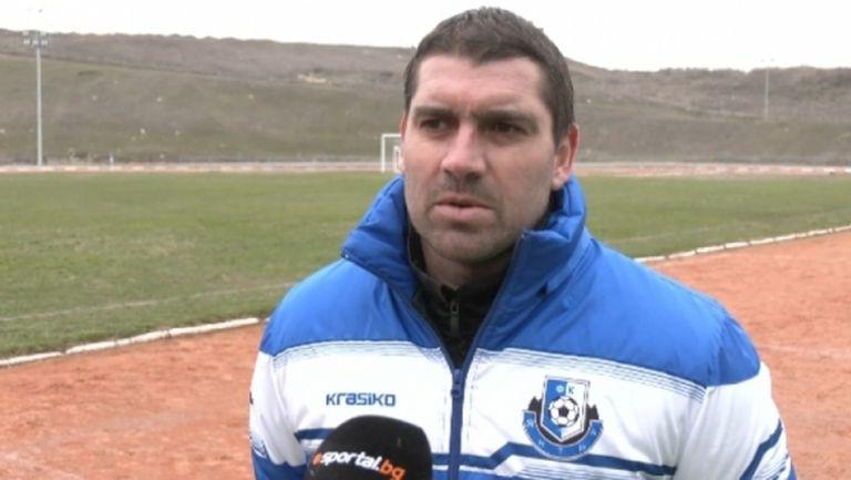 Петър Кръстев: Основната ни цел е да обиграваме младите