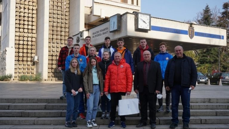 Отбор по кану-каяк от Беларус тренира край Русе