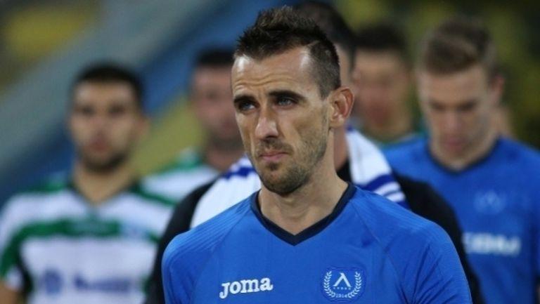 Бивш капитан на Левски побесня след гол на противника (видео)