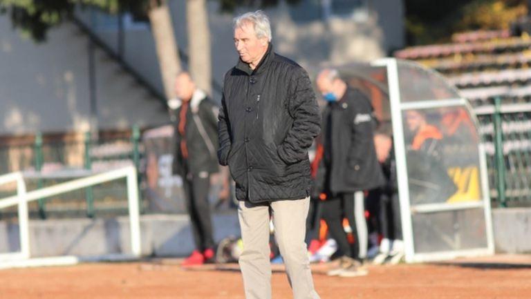 Кръстанов: С нетърпение очаквам мача, с който официално ще влезем в професионалния футбол