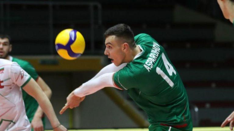 Аспарух Аспарухов: Имам огромно желание да бъда с националния тим 🏐