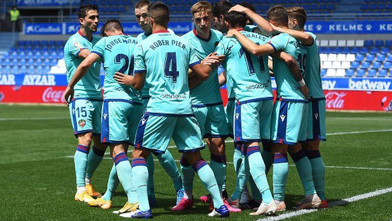 Късен гол спаси Алавес срещу Леванте в 100-минутен мач
