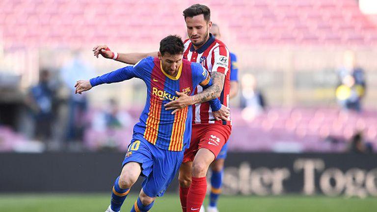 Барселона - Атлетико Мадрид 0:0