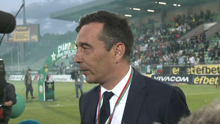 Петричев: Целим се в Шампионската лига