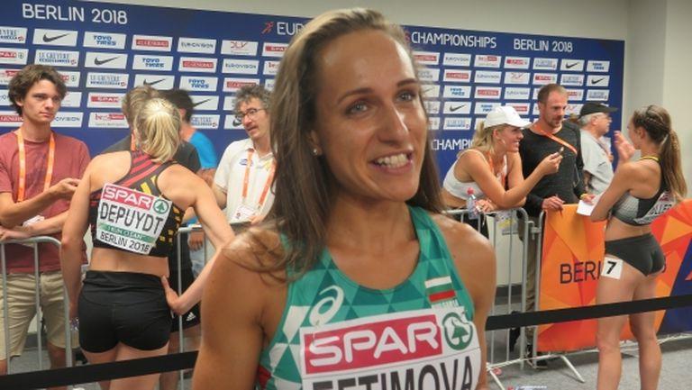 Ефтимова: Определено имах сили за финали