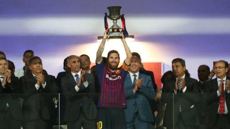 Барса ликува с 13-ата си Суперкупа на Испания след обрат и драма до последно в Мароко (видео)