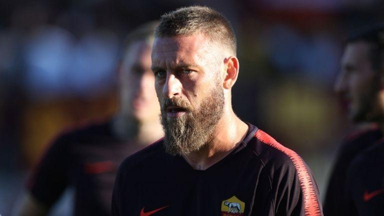 И Де Роси притесни треньорския щаб на Рома
