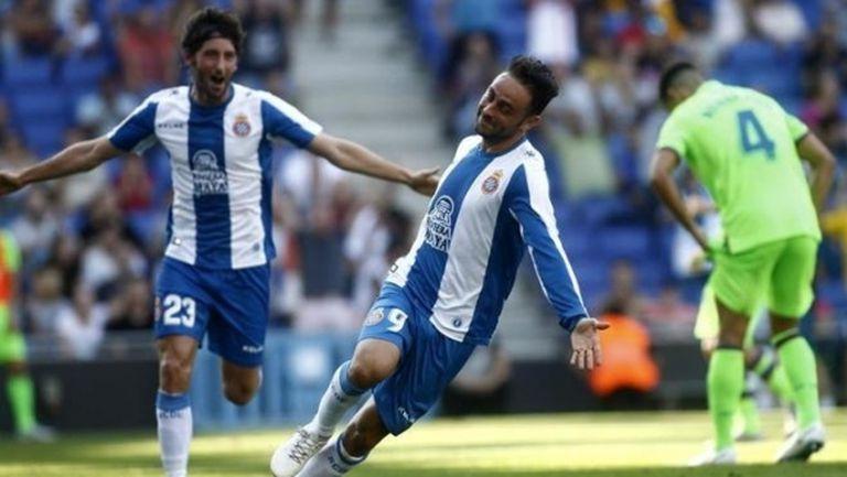 """35-годишният Серхио Гарсия качи Еспаньол в зона """"Шампионска лига"""""""