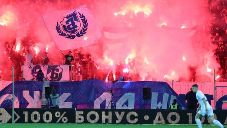 Левски отнесе глоба 2300 лева заради феновете