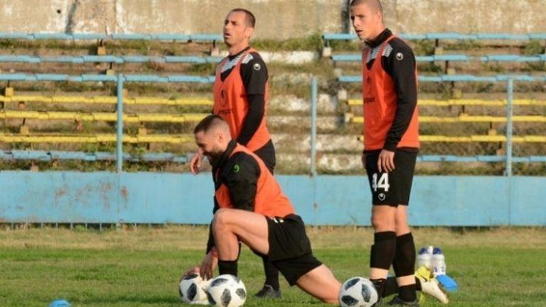 Черно море проведе последната си тренировка преди мача с Ботев