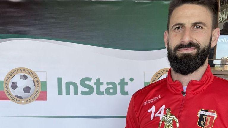 Димитър Илиев е Футболист №1 за март според InStat