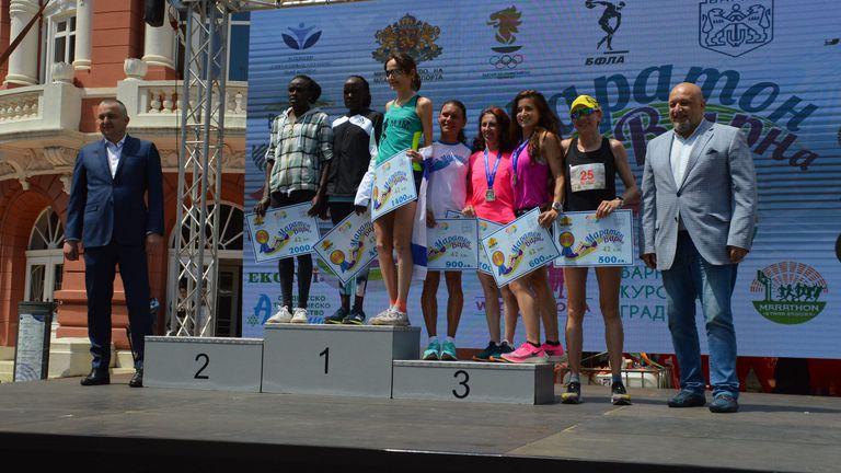 Падна рекорд във Варненския маратон, кенийци триумфират на 42.195 км