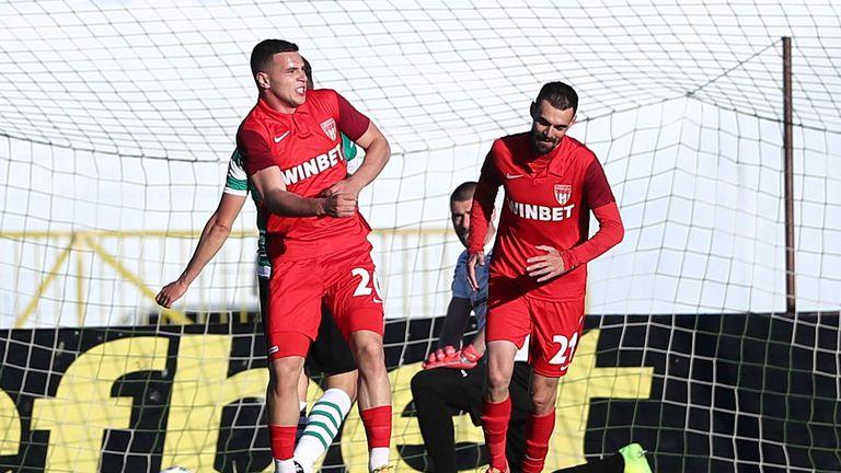 """""""Царете"""" бързо се върнаха в срещата с гол на Димитър Костадинов"""