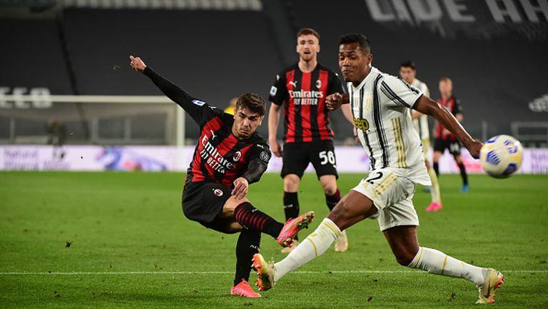 Милан разби Ювентус с 3:0 като гост