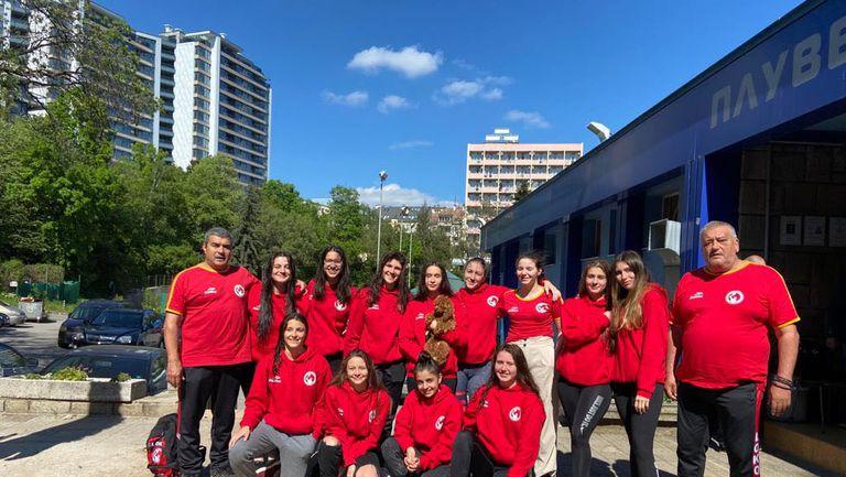 Локомотив НН поведе в женското първенство по водна топка
