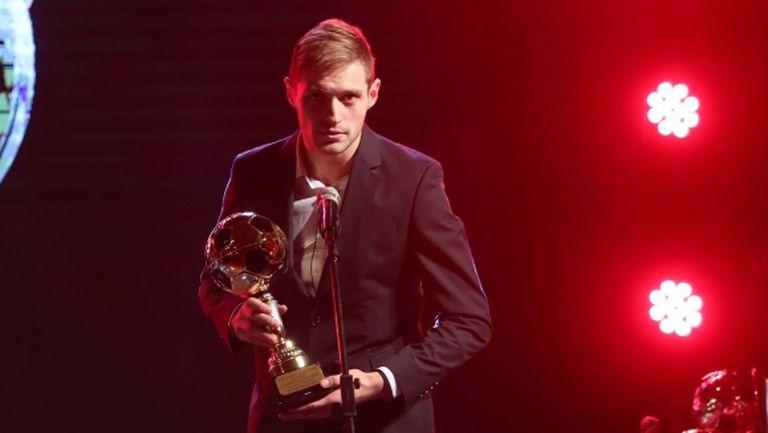 Голаджията на Левски най-добър защитник в България