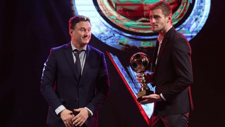 Яблонски: Не съм очаквал, че след само година в България ще получа подобна награда