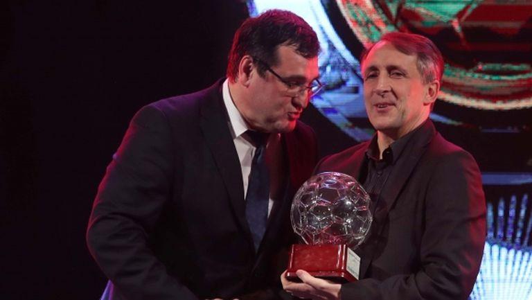 Цанко Цветанов: Благодаря на всички, дано някой ден се кача на сцената и като титуляр