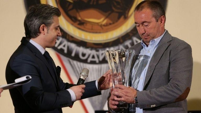 Най-добрият български треньор: Дано футболът ни се развива положително през 2018-а
