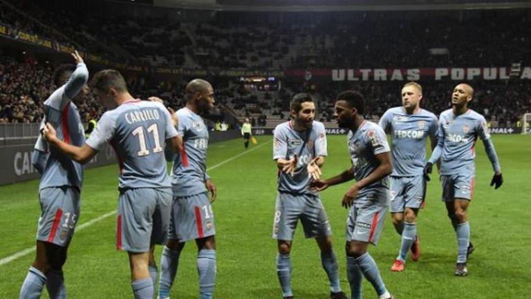 Монако е първият полуфиналист за Купата на лигата (видео)