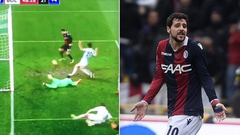 Това ли е пропускът на сезона в Италия? (видео)