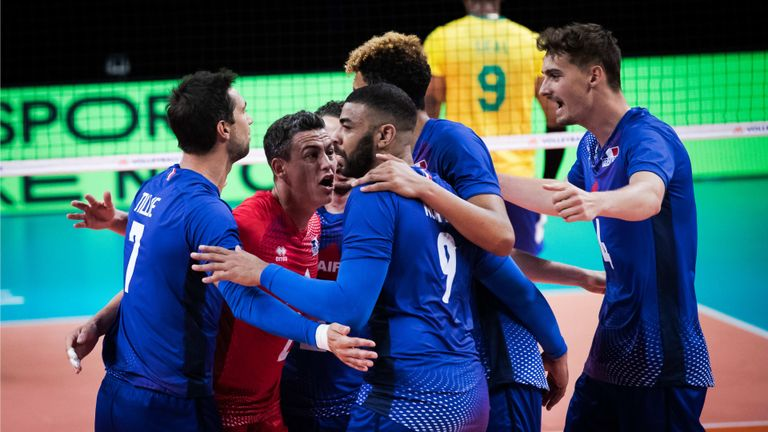 Франция - Русия 3:1