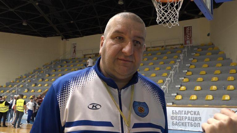 Емил Горанов: Отказваме се от финалите на ББЛ