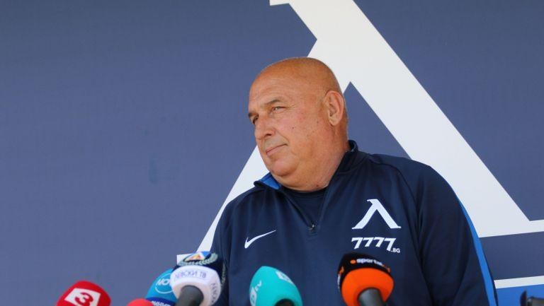 Георги Тодоров: Ако не победим Славия, победата в Стара Загора отива на вятъра