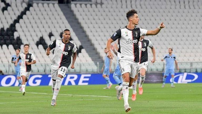 Историческо постижение за Роналдо при победата на Юве над Лацио