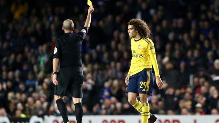 Играч на Арсенал със забрана да тренира с отбора
